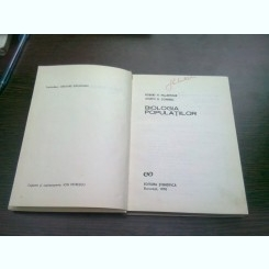 BIOLOGIA POPULATIILOR - ROBERT H. MACARTHUR