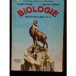 Biologie - manual pentru clasa a VI - Maria Brandusoiu
