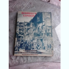 BOSWELL'S LONDON, GRAFICA DE JAMES BOSWELL  (TEXT IN LIMBA ENGLEZA)