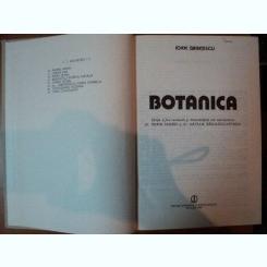 BOTANICA ED. II-a revizuita si imbunatatita de IOAN GRINTESCU