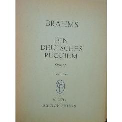 BRAHMS - EIN DEUTSCHES REQUIEM OPUS 45