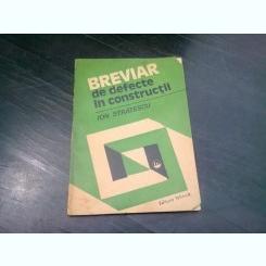 BREVIAR DE DEFECTE IN CONSTRUCTII - ION STRATESCU