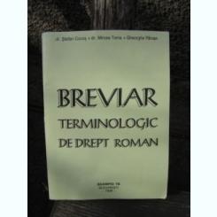 BREVIAR TERMINOLOGIC DE DREPT ROMAN - STEFAN COCOS