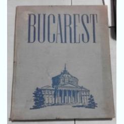 Bucuresti-Bucharest. Album foto, 1953 . Text in lb engleza -Prefata de Geo Bogza