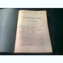 BULETINUL CURTILOR DE APEL, 1932