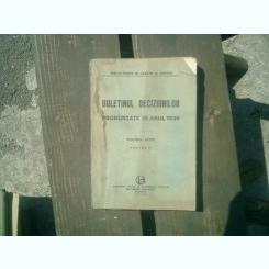 Buletinul deciziunilor pronuntate in anul 1939 volumul LXXVI partea IV