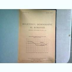 BULETINUL DEMOGRAFIC AL ROMANIEI. MISCAREA POPULTIEI IN ANUL 1945