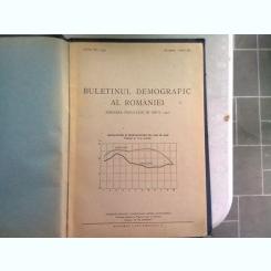 BULETINUL DEMOGRAFIC AL ROMANIEI. MISCAREA POPULTIEI IN ANUL 1946