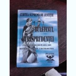 BULETINUL JURISPRUDENTEI, CULEGERE DE DECIZII PE ANUL 1997 , HOTARAREA NR.1/1998 A SECTIILOR UNITE, CURTEA SUPREMA DE JUSTITIE