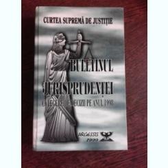 BULETINUL JURISPRUDENTEI. CULEGERE DE DECIZII PE ANUL 1998, CURTEA SUPREMA DE JUSTITIE