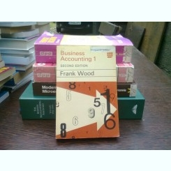 Business accounting 1 - Frank Wood  (contabilitate 1)