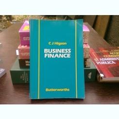 Business finance - C.J. Higson  (Finanțarea afacerilor)