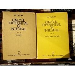 Calcul diferential si integral (Doua volume) , Gh. Siretchi , 1985