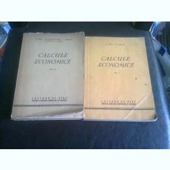 CALCULE ECONOMICE - S. PELZ   2 VOLUME