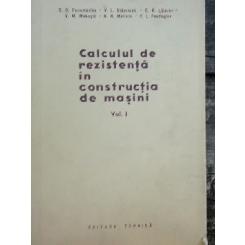 CALCULUL DE REZISTENTA IN CONSTRUCTIA DE MASINI