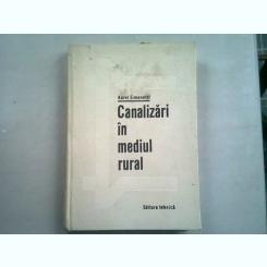 CANALIZARI IN MEDIUL RURAL - AUREL SIMONETTI