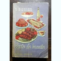 CARTE DE BUCATE - E.CIORTAN / X. NICOLAU