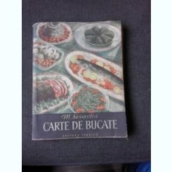 CARTE DE BUCATE - M. SEVASTOS