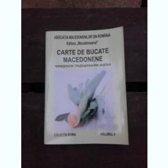 CARTE DE BUCATE MACEDONENE, VOL.II