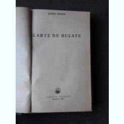 CARTE DE BUCATE - SANDA MARIN, 1956
