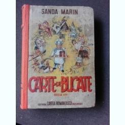 CARTE DE BUCATE - SANDA MARIN  EDITIA XIII, PREFATA DE AL.O. TEODOREANU