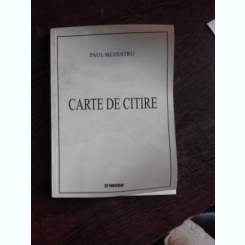 CARTE DE CITIRE - PAUL SILVESTRU