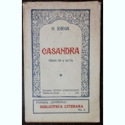 CASANDRA - N.IORGA