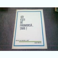 CAT ESTI DE FRUMOASA, TARA! CANTECE DIN CONCURSUL L. VIDU 1969-70  (CU PARTITURI)
