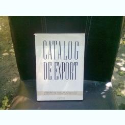 CATALOG DE EXPORT
