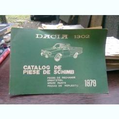 Catalog de piese de schimb Dacia 1302  (1979)