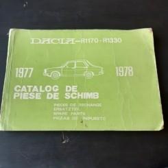 Catalog de piese de schimb Dacia R1170 - R1330 (1977-1978)