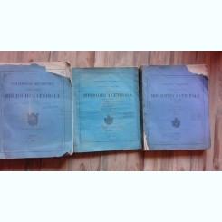 CATALOGULU ALFABETICU DE NUMELE AUTORILOR AFLATI IN BIBLIOTHECA CENTRALA DIN BUCURESCI, REDIGITAT DE GR.I. DIANU  3 VOLUME