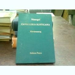 Cavalleria rusticana - Pietro Mascagni  (cavaleria rusticana/partitura)