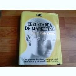 CERCETAREA DE MARKETING-PETRE DATCULESCU