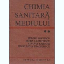 Chimia Sanitara a mediului, Sergiu Manescu,volumul II