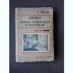 CHIMIA SI ANALIZA ALIMENTELOR SI BAUTURILOR - A. POLTZER