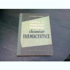 CHIMIA SI TEHNOLOGIA PRODUSELOR CHIMICO-FARMACEUTICE-M.T.ROBERT-NIKOUD