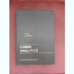 Chimie analitica - Gr. Popa