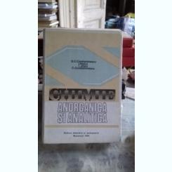 CHIMIE ANORGANICA SI ANALITICA - G.C. CONSTANTINESCU