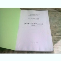 CHIMIE ANORGANICA - VERONICA NACEA  VOL.I