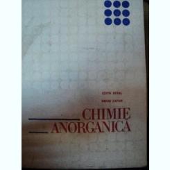 CHIMIE ANORGANICA,EDITIA A 4-A-E.BERAL,M.ZAPAN,BUC.1977