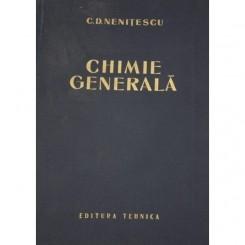 CHIMIE GENERALA-C.NENITESCU,1963
