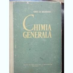 CHIMIE GENERALA de CONST. GH. MACAROVICI