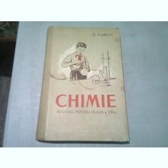CHIMIE. MANUAL PENTRU CLASA A VII-A - D. TOMESCU