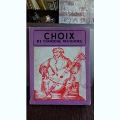 CHOIX DE CHANSONS FRANÇAISES - VIORICA DEMETRESCU (ALEGEREA CANTECELOR FRANCEZE)