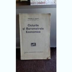 CICLURILE SI BAROMETRELE ECONOMICE - DIMITRIE N. IORDAN