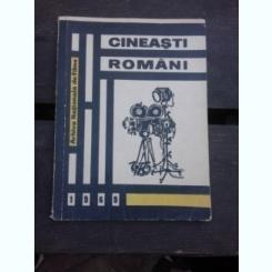 CINEASTI ROMANI, DICTIONAR BIO-FILMOGRAFIC