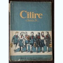 CITIRE- CLASA A IV-A