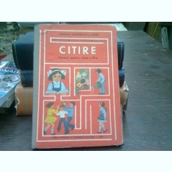 CITIRE. MANUAL PENTRU CLASA A III-A - IOAN SERDEAN (1990)