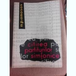 Citirea partiturilor simfonice - N.P. Anosov